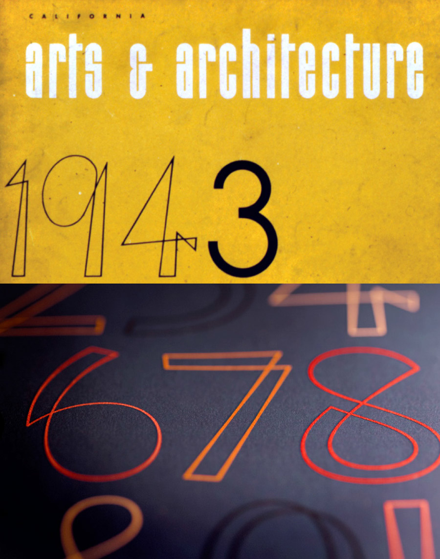 3488a36e6e eames.houseind.com — The Eames Cover numerals were inspired by lettering  Ray Eames