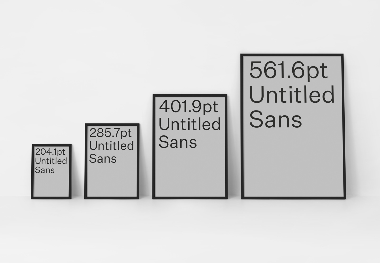 Untitled Sans – Font Review Journal
